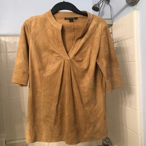 Lafayette 148 100% leather top